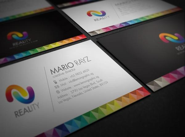 Business cards 40 colorful business cards inspiration colorful business card inspiration 02 colourmoves