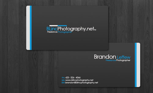 photography business cards 33 60 Photography Business Cards Inspirations
