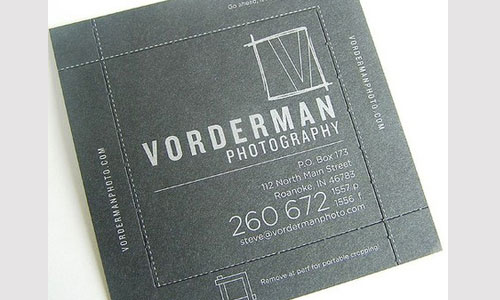 photography business cards 52 60 Photography Business Cards Inspirations