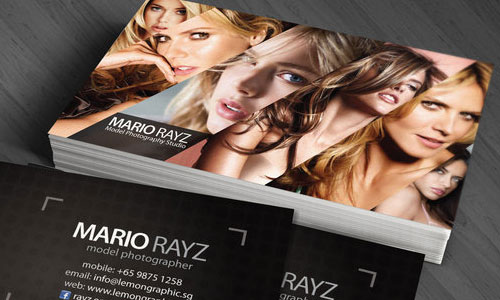 photography business cards 58 60 Photography Business Cards Inspirations