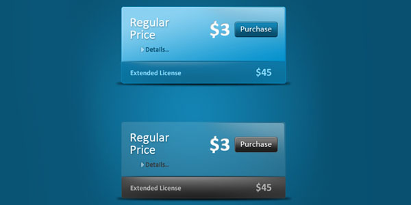 pricing table psd templates 31 37 Free Pricing Table PSD Templates
