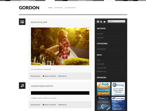 tumblr style wordpress themes 18 18 Free Awesome Tumblr Style WordPress Themes