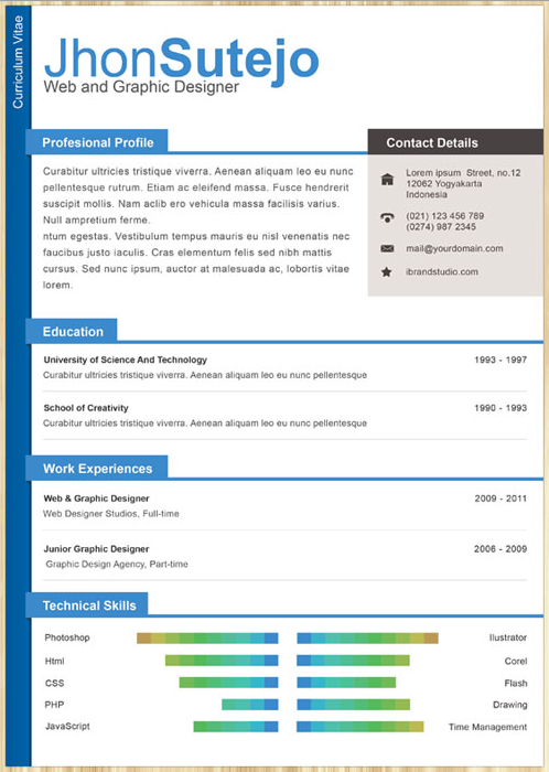 Top    Resume Templates Ever   The Muse Corporate One Page CV Resume Template