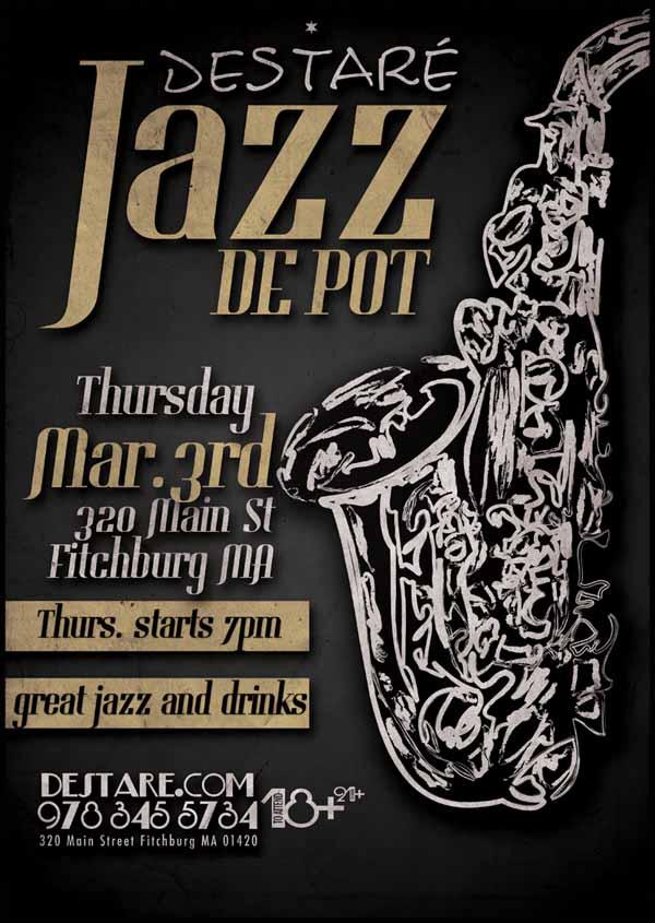 超酷的爵士音乐节海报设计集锦