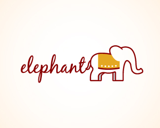 99ffe054a 30 Elephant Logo Design Inspiration - Smashfreakz