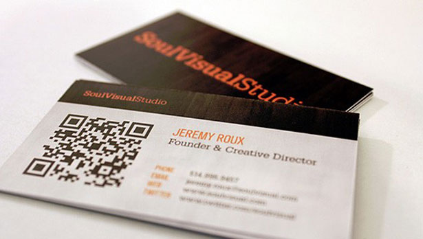 qr code business cards 34 50 Inspirational QR Code Business Cards