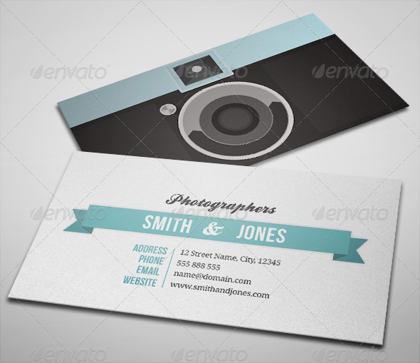 15 best photography business card templates smashfreakz sleek illustrated photography business card flashek