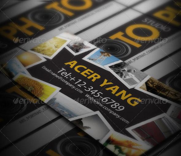 15 Best Photography Business Card Templates Smashfreakz