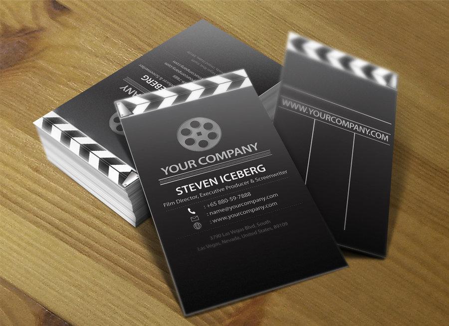 15 Inspirational Business Card For Film Industry - Smashfreakz