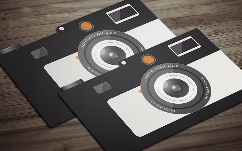 8 Free Photography Business Card Templates