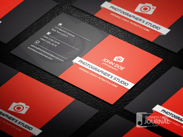 8 free photography business card templates smashfreakz free photography business card template flashek Image collections
