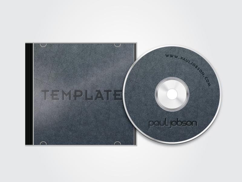 10 Best Free CD Cover PSD Mockup Smashfreakz – Compact Cd Envelope Template