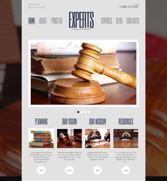 10 Best Free Law Wordpress Themes - Smashfreakz