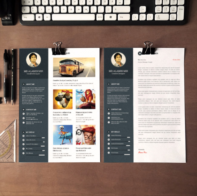 Free Resume Templates With Cover Letter
