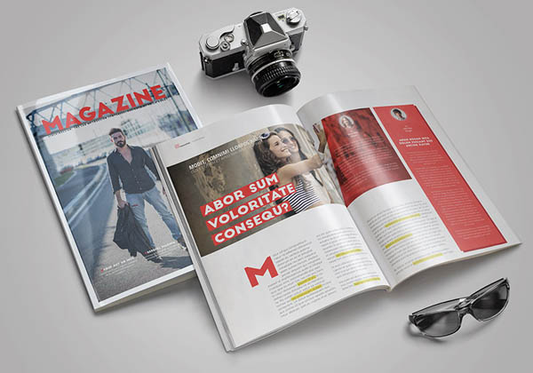 free indesign magazine layout 07