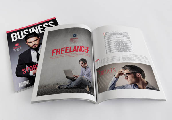 Free Indesign Magazine Templates Projects. magazine mock up kit by ...