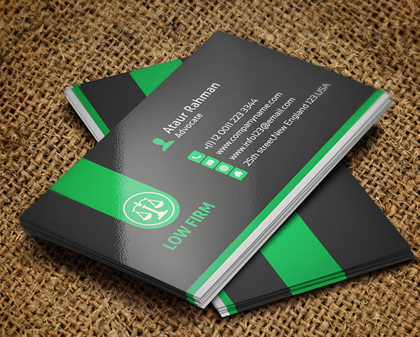 25 creative lawyer business card templates smashfreakz lawyer business card reheart Choice Image
