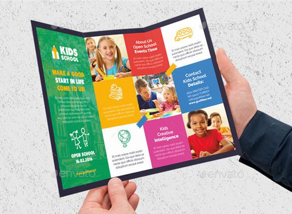30 School Brochure Template for Education Institution - Smashfreakz