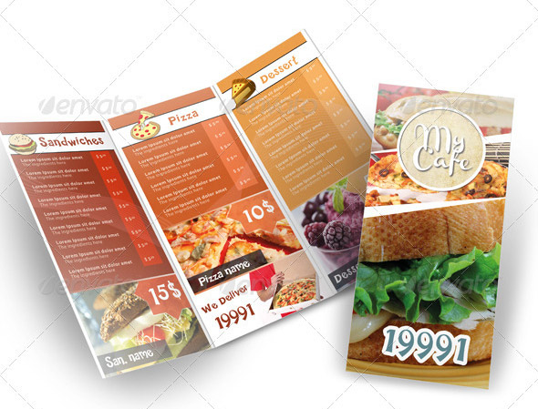 Stunning Restaurant Menu Design Ideas Gallery - Decorating ...