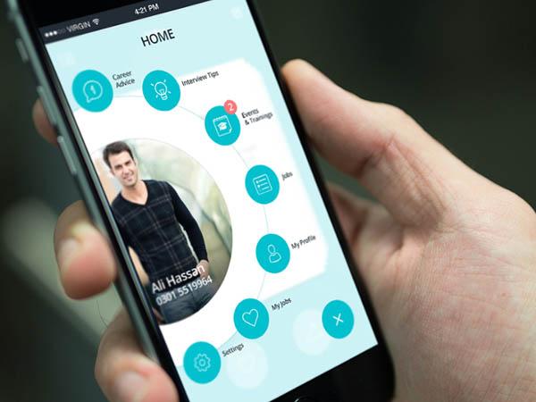 Image result for mobile application designer