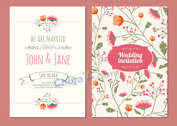 10 free save the date template for wedding invitation smashfreakz wedding invitation card vector template stopboris Gallery