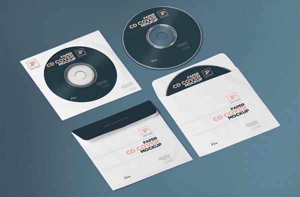 10 Best Free CD Cover PSD Mockup - PSD Mockups