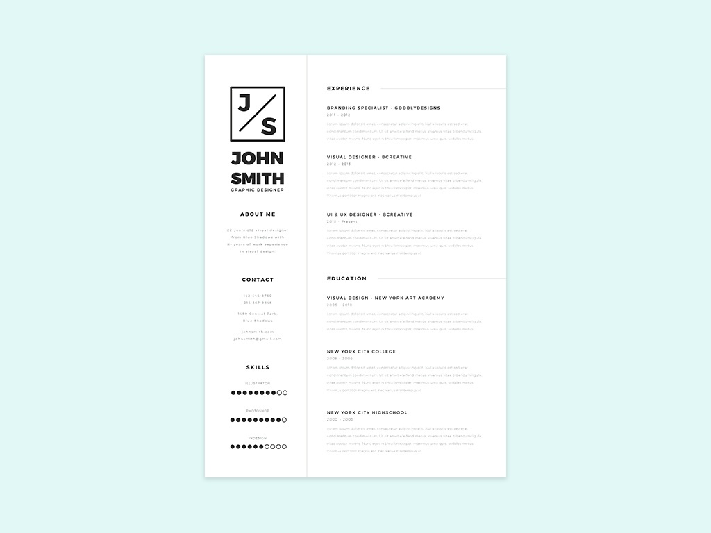 simple resume template cover letter smashfreakz simple resume template 01