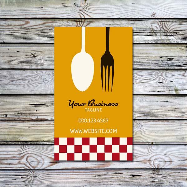33 Creative Catering Business Card Design For Inspiration Smashfreakz