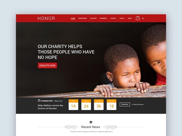 10 free charity psd website template smashfreakz