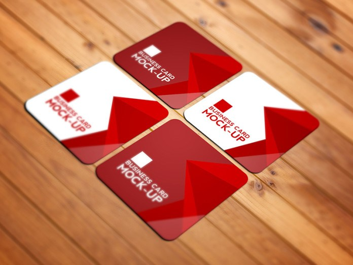 10 free square business card mockups smashfreakz here is high quality photo realistic square business card mock up perfect for your next branding project the psd files is high resolution and include smart reheart Images