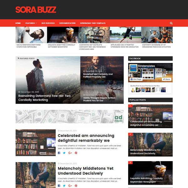 5 Free Viral Blogspot Templates - Smashfreakz