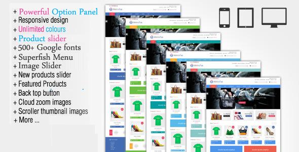4 Opencart Themes with Metro Style Interface - Smashfreakz