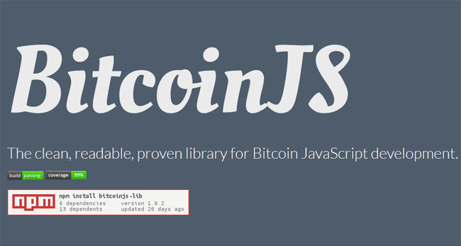 BitcoinJS : JavaScript Bitcoin library for node js and