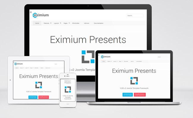 Eximium : Free Multipurpose Joomla Template - Freebie #52