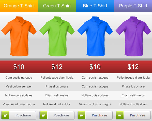 Top 10 Joomla Pricing Table Extensions Smashfreakz