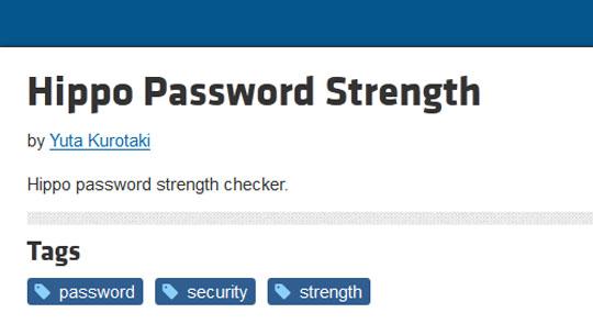 10 jQuery Plugins for Password Strength Meter - Smashfreakz