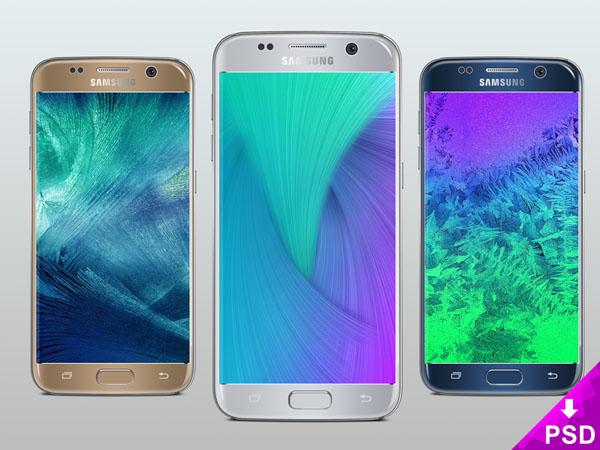 Samsung Galaxy S7 Mockup 01