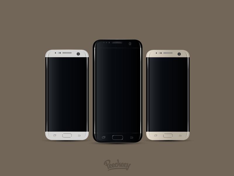 Samsung Galaxy S7 Mockup 02