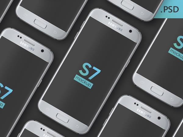 Samsung Galaxy S7 Mockup 04