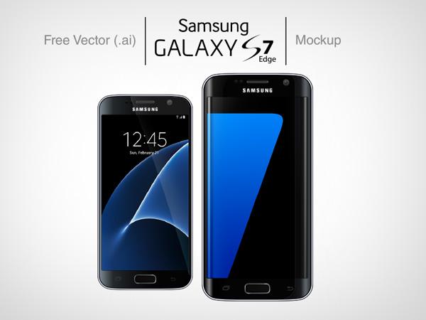 Samsung Galaxy S7 Mockup 05
