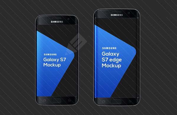 Samsung Galaxy S7 Mockup 06