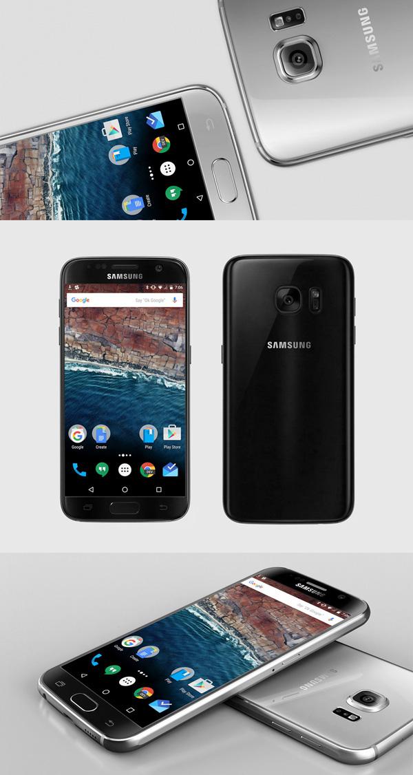Samsung Galaxy S7 Mockup 09