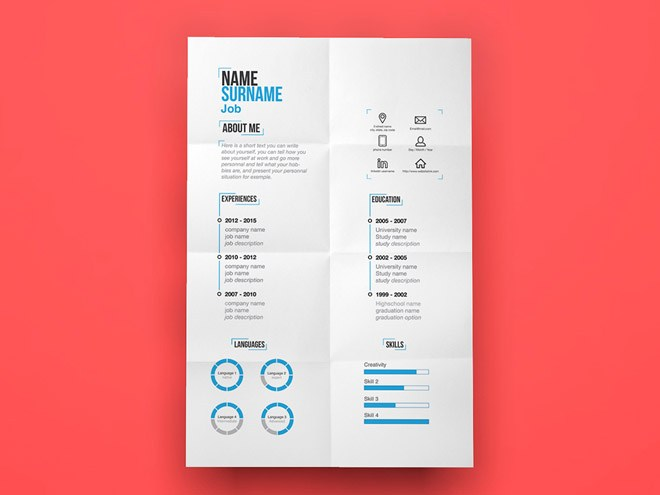 27 Free Minimal Resume Template For Any Job Opportunity Smashfreakz