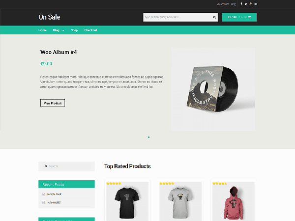 50 Free Ecommerce WordPress Themes To Make Professional