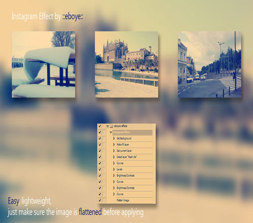 Instagram Effects Photoshop Action 05
