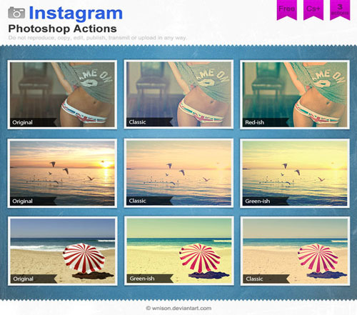 Instagram Effects Photoshop Action 09