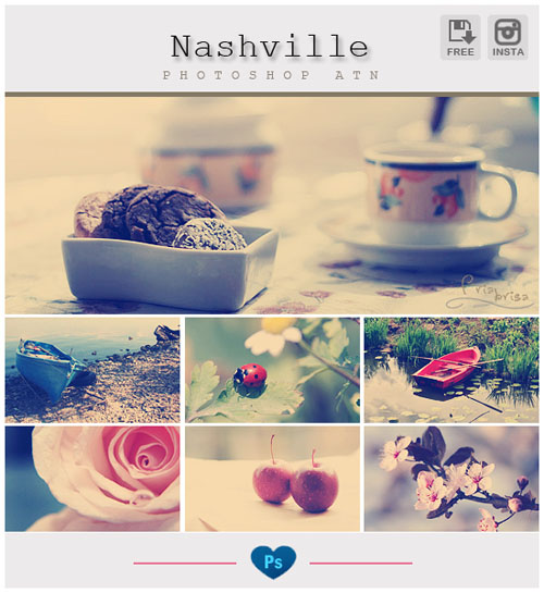 Instagram Effects Photoshop Action 12