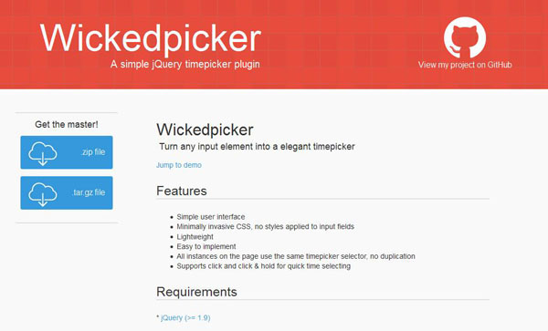 15 Best jQuery Time Picker Plugins to Setup Time Interface