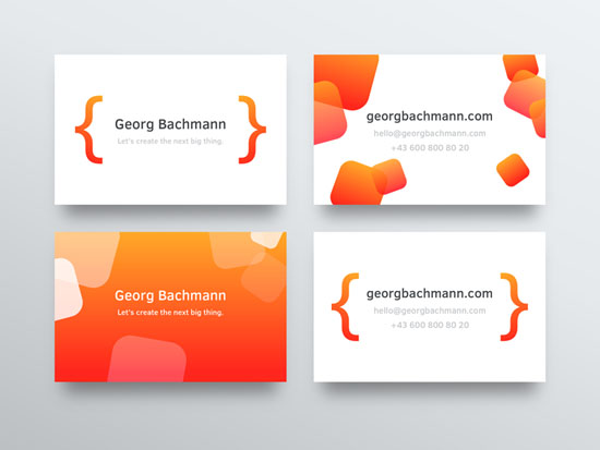 25 Creative Web Developer Business Card Design Smashfreakz