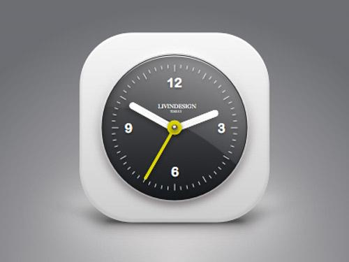 5 Free Sketch Clock Icon for Interface Project - Smashfreakz